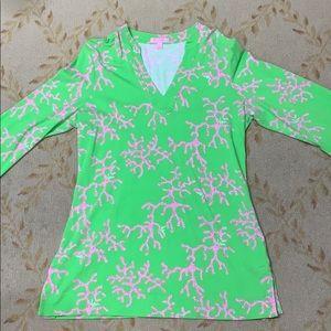 Lilly Pulitzer cotton knit tunic M